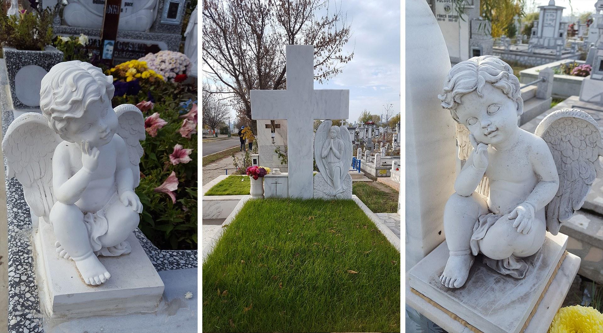 Cruci si Monumente Funerare, Morminte si Pietre Funerare din Marmura si Granit