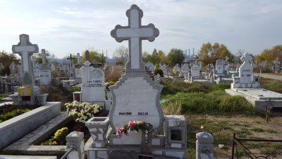 Cruce Funerara Marmura Galati